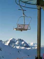 Bergbahn Skilift